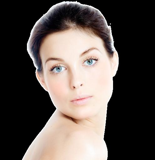 dermatology beautiful woman